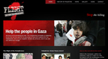 Palestinians Plight website